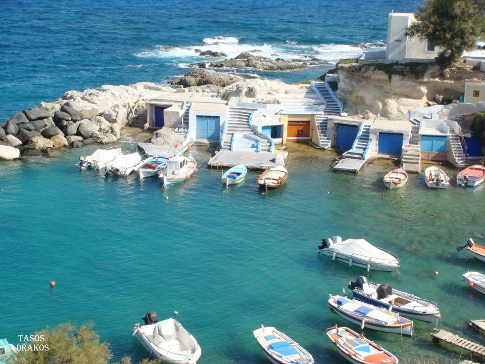 Mandrakia île de Milos îles Cyclades Grèce