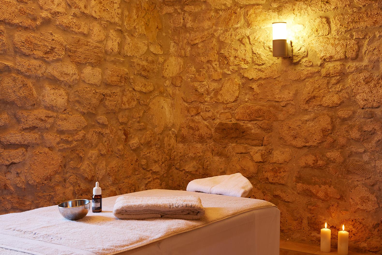 spa avec massages à hôtel Ammon Zeus 5étoiles