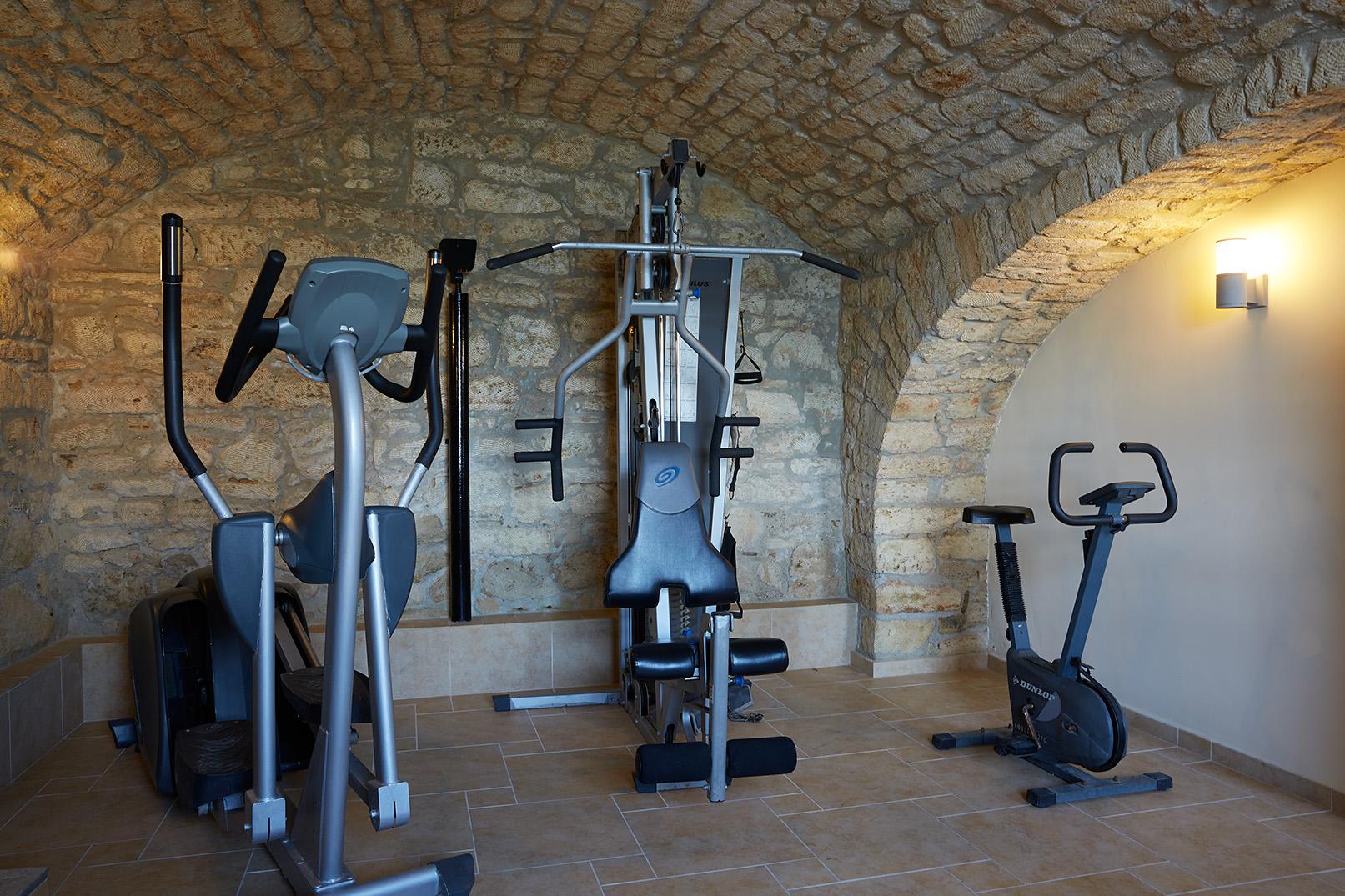 salle de gym a hôtel AMMON ZEUS 5étoiles