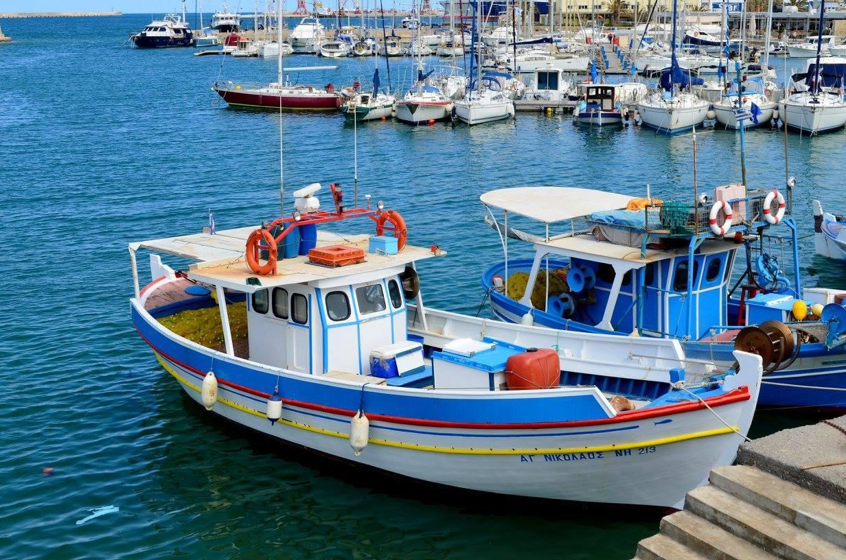 Vieux port de Heraklion capitale de la Crète