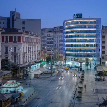 hôtel Tiare se trouve sur la place Omonia a Athènes