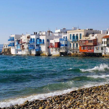 île de Mykonos dans les Cyclades en Grèce
