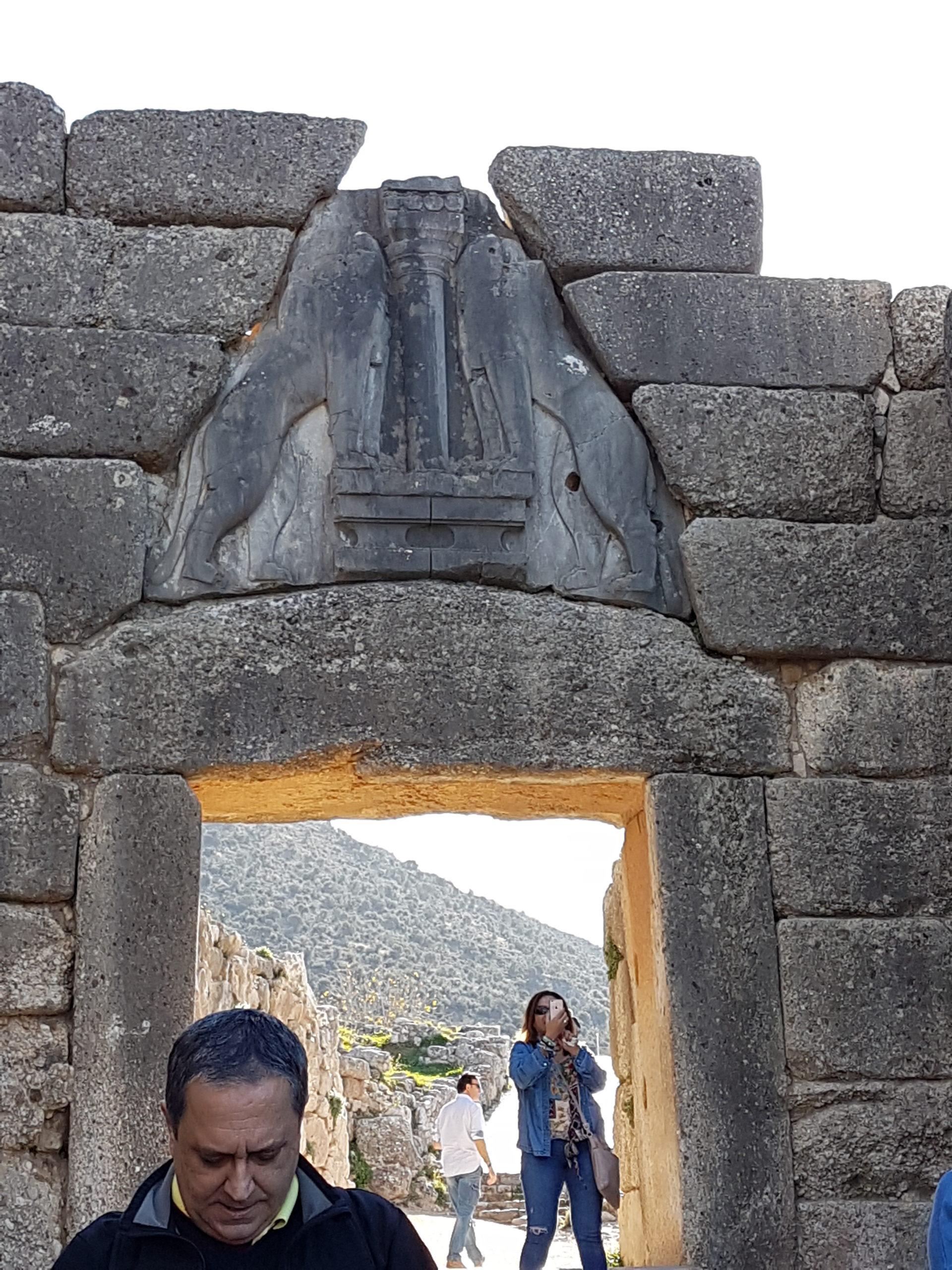 Site archéologique de Mycènes Grèce Continentale
