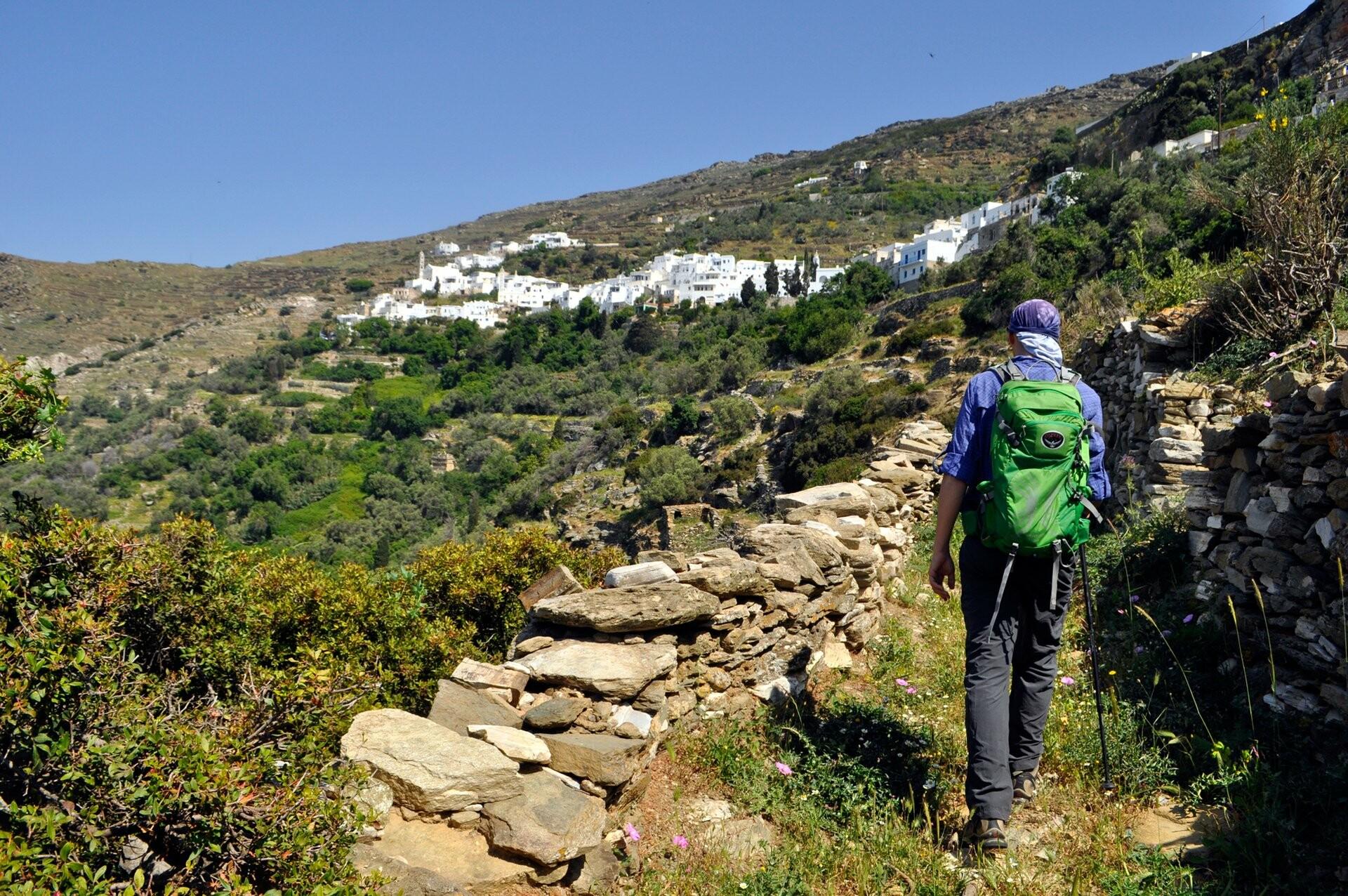 Île de Tinos île Cyclades Grèce randonnées