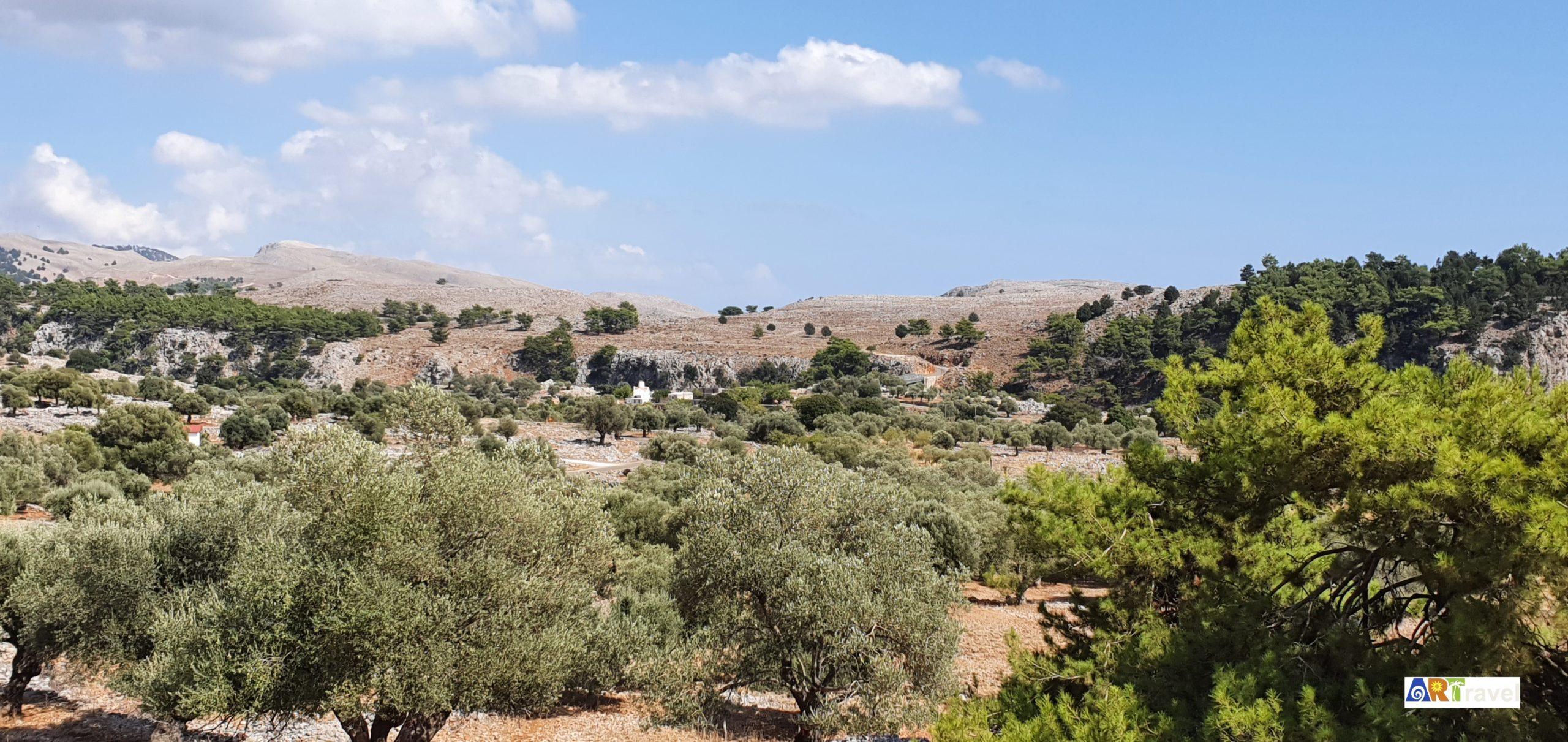 Campagne de l'île de Crète Grèce