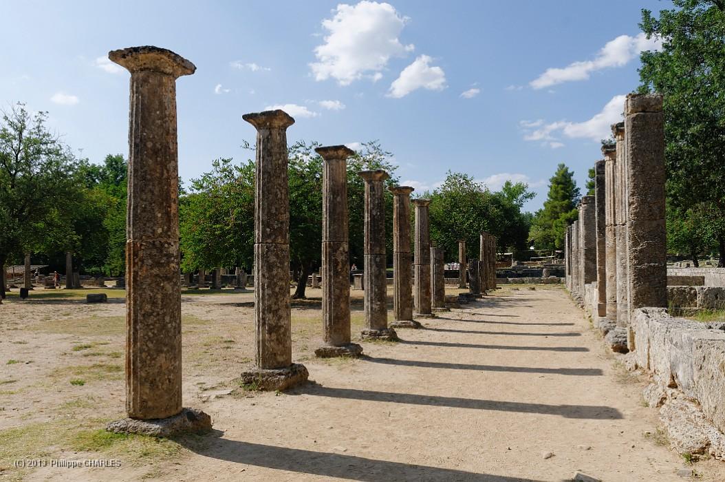 site archéologique de Olympie Grèce continentale