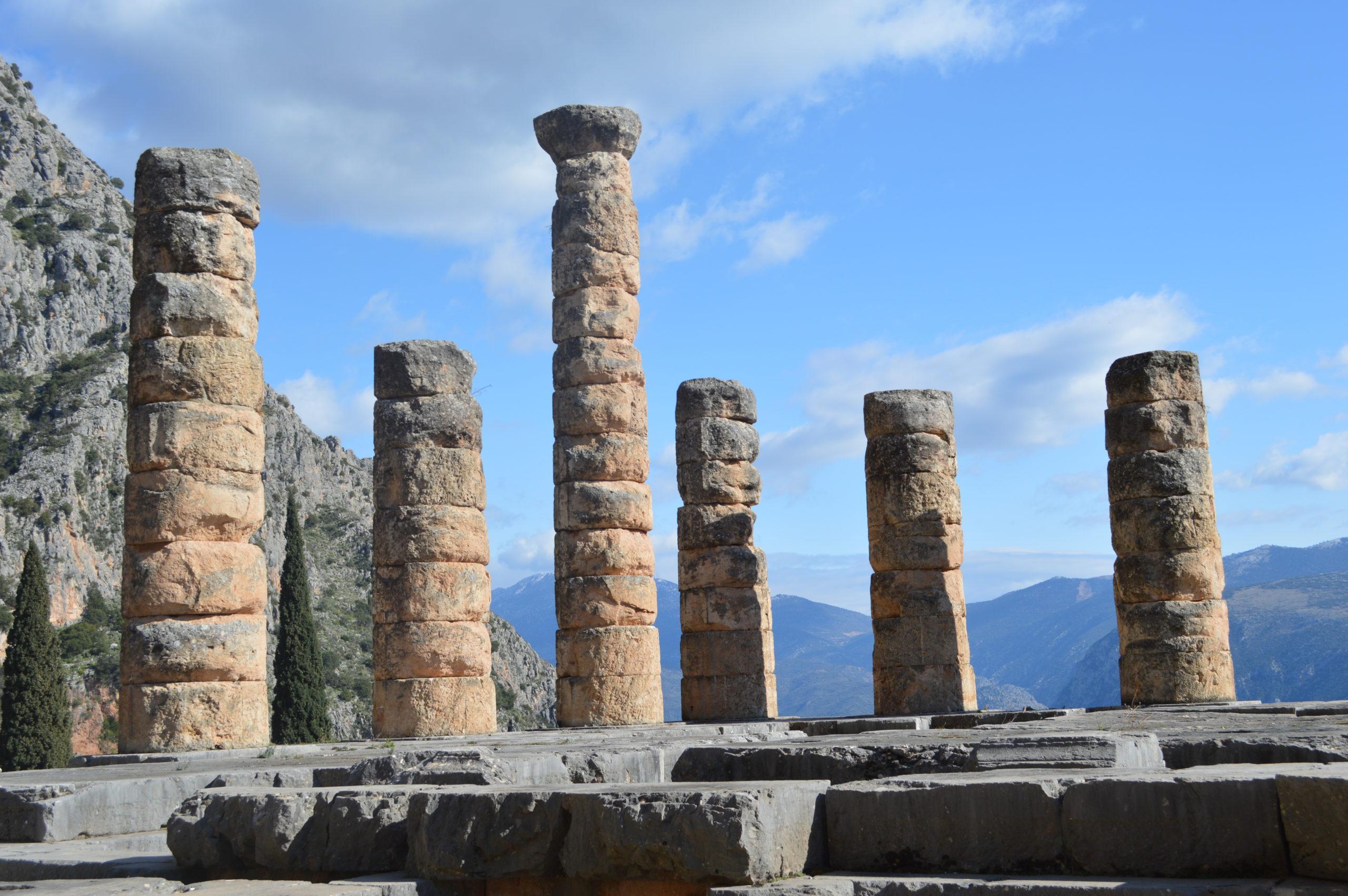 Sanctuaire de Delphes Grèce