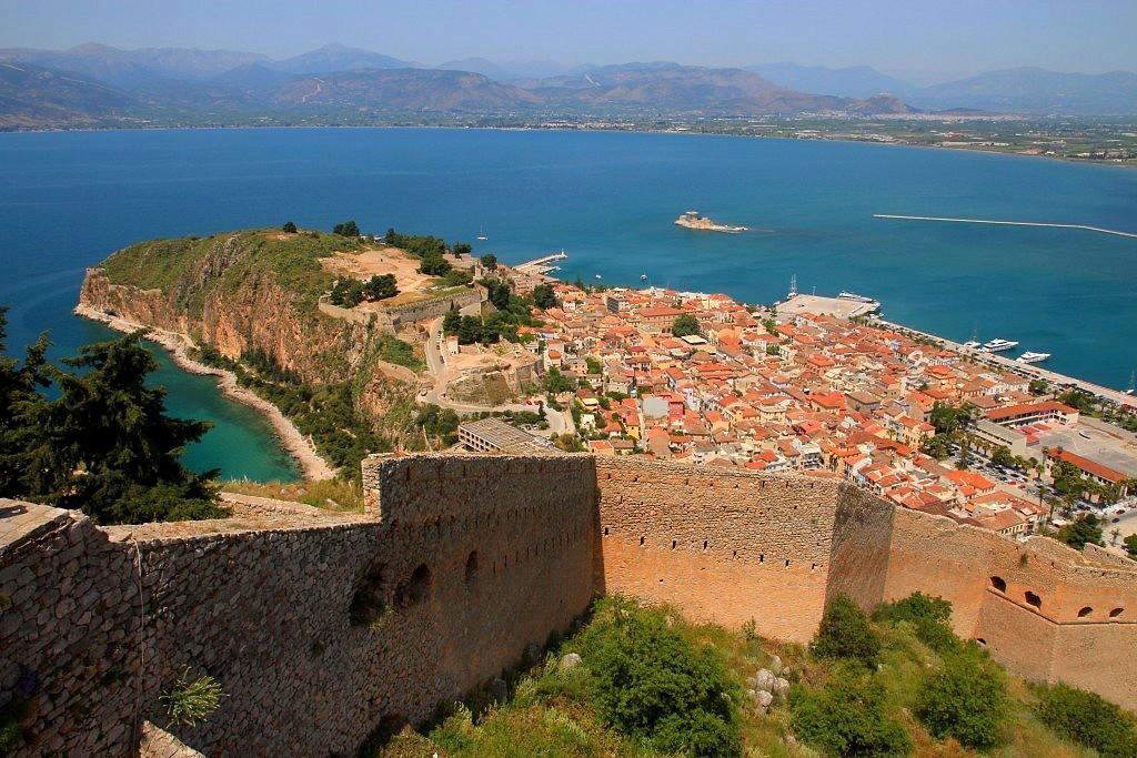 ville de Nauplie Péloponnèse Grèce continentale